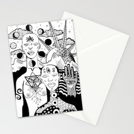 Family Portrait: Honey We/re Home Stationery Cards