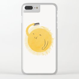 Good Morning, Sunshine Clear iPhone Case