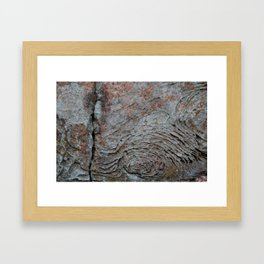 Sandstone Waves: Natural Bridge, Kentucky Framed Art Print