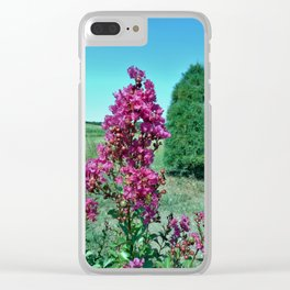 Crepe Myrtle Clear iPhone Case