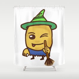 Potato Witch Shower Curtain