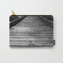Boardwalk in Nature BW Carry-All Pouch