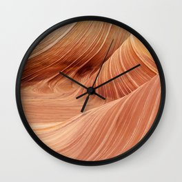 The Waves of the Coyote Buttes Wall Clock
