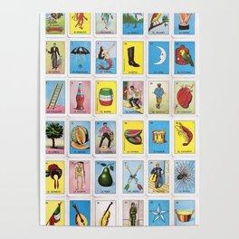 Lotería Cards Poster