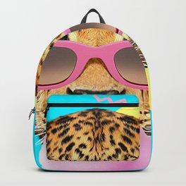 Bubble Gum Leo Backpack