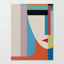 Absolute Face Canvas Print