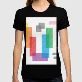 CRAYOLA ABSTrACT CRAYON ART T-shirt