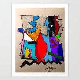 Abstract Dailey 451 Art Print