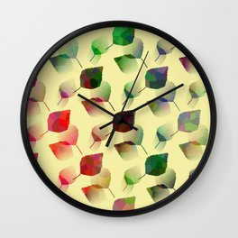 Autumn Sprinkle Wall Clock