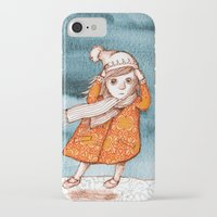 storm iPhone & iPod Cases featuring Storm by Alibabaform