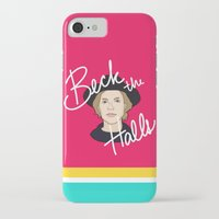 cassia beck iPhone & iPod Cases featuring Beck the Halls by Chelsea Herrick