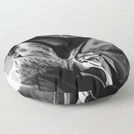 John Wayne @ True Grit #1 Floor Pillow