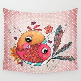 IN LOVE Wall Tapestry