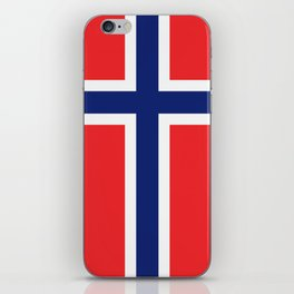 Flag of norway iPhone Skin