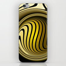 Turning into gold iPhone & iPod Skin