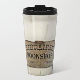 Librairie Bookshop Travel Mug