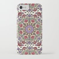 deco iPhone & iPod Cases featuring Deco Floral by Paula Belle Flores