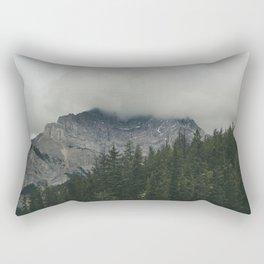 Road to Banff Rectangular Pillow
