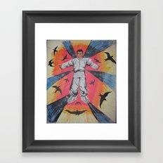 Flight. Framed Art Print