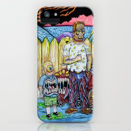 King of the Propane iPhone Case
