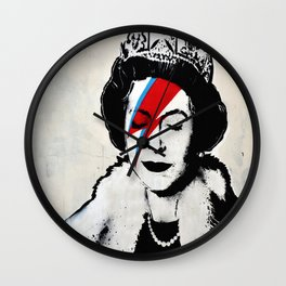 Banksy, Queen Wall Clock