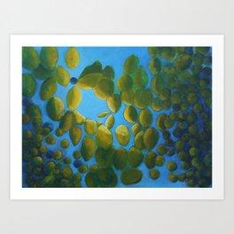 Seedling Swirl Art Print