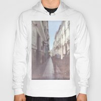madrid Hoodies featuring Madrid, Spain by Jane Lacey Smith