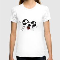 jake T-shirts featuring Happy Jake by KisaSunrise