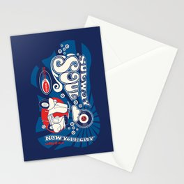 Soul Scoot Subway Soul by Dawn Carrington Stationery Cards