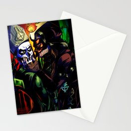 I WILL EAT YOU ALIVE Stationery Cards