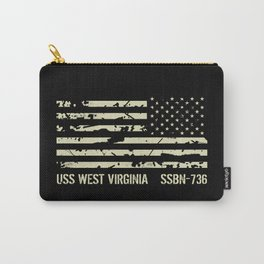 USS West Virginia Carry-All Pouch