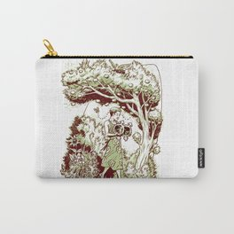 Intersectional Nature Carry-All Pouch