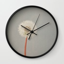 The Passing of Time Wall Clock