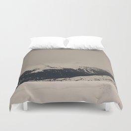 Mont Blanc vintage Duvet Cover