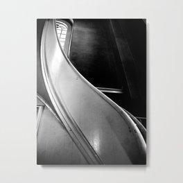 St Paul's Chapel Stair Metal Print