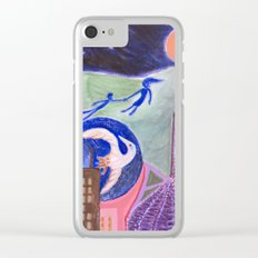 landscape of strange times Clear iPhone Case