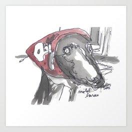 Violet - The Dog Portrait Series Art Print