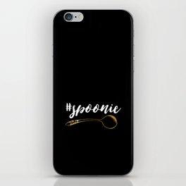 #spoonie iPhone Skin
