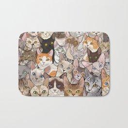 A lot of Cats Bath Mat