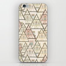Pattern Houses iPhone & iPod Skin
