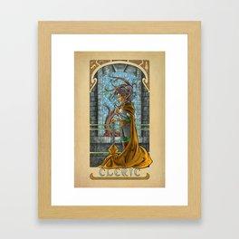 La Clerc - The Cleric Framed Art Print