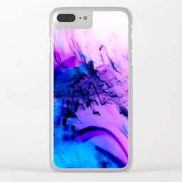Forever Dreaming Abstract Clear iPhone Case
