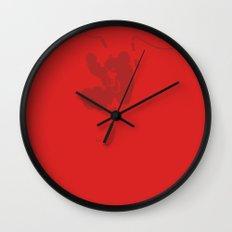 Rest My Fear Wall Clock