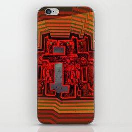 Three's a Crowd / Robotics iPhone Skin