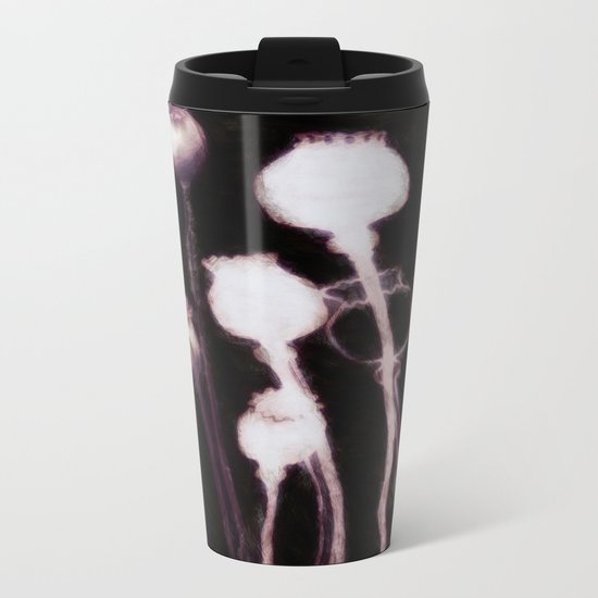 Poppy Variation 9 Metal Travel Mug