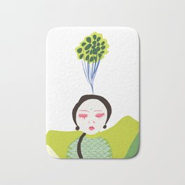 Centered Bath Mat