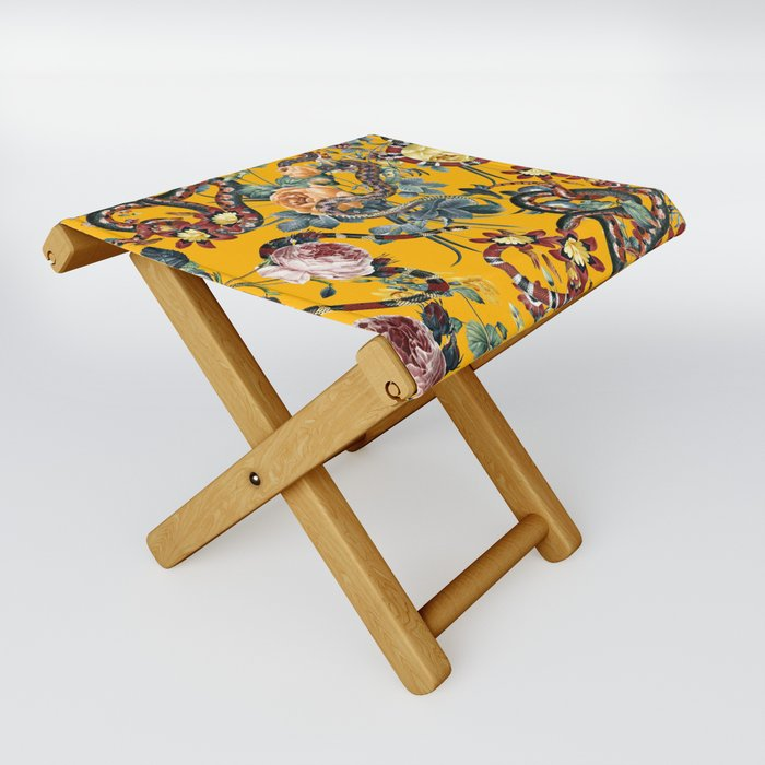 Dangers in the Forest III Folding Stool