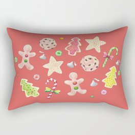 Holiday Treats Rectangular Pillow