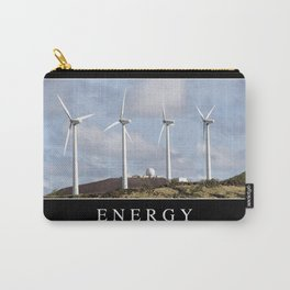 Energy: Inspirational Quote and Motivational Poster Carry-All Pouch