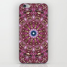Floral Core iPhone Skin